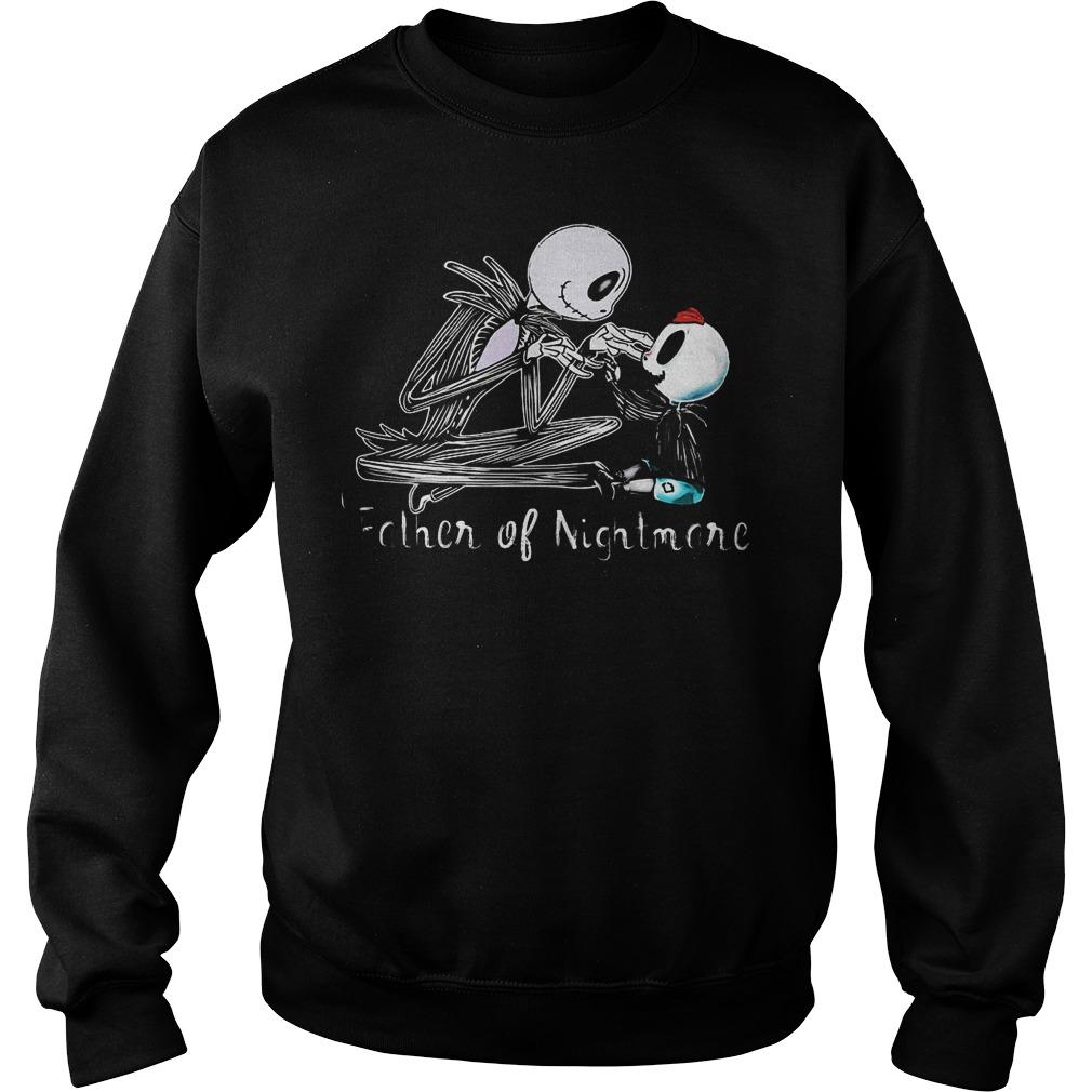 Jack skellington one boy father of nightmares shirt Sweatshirt Unisex