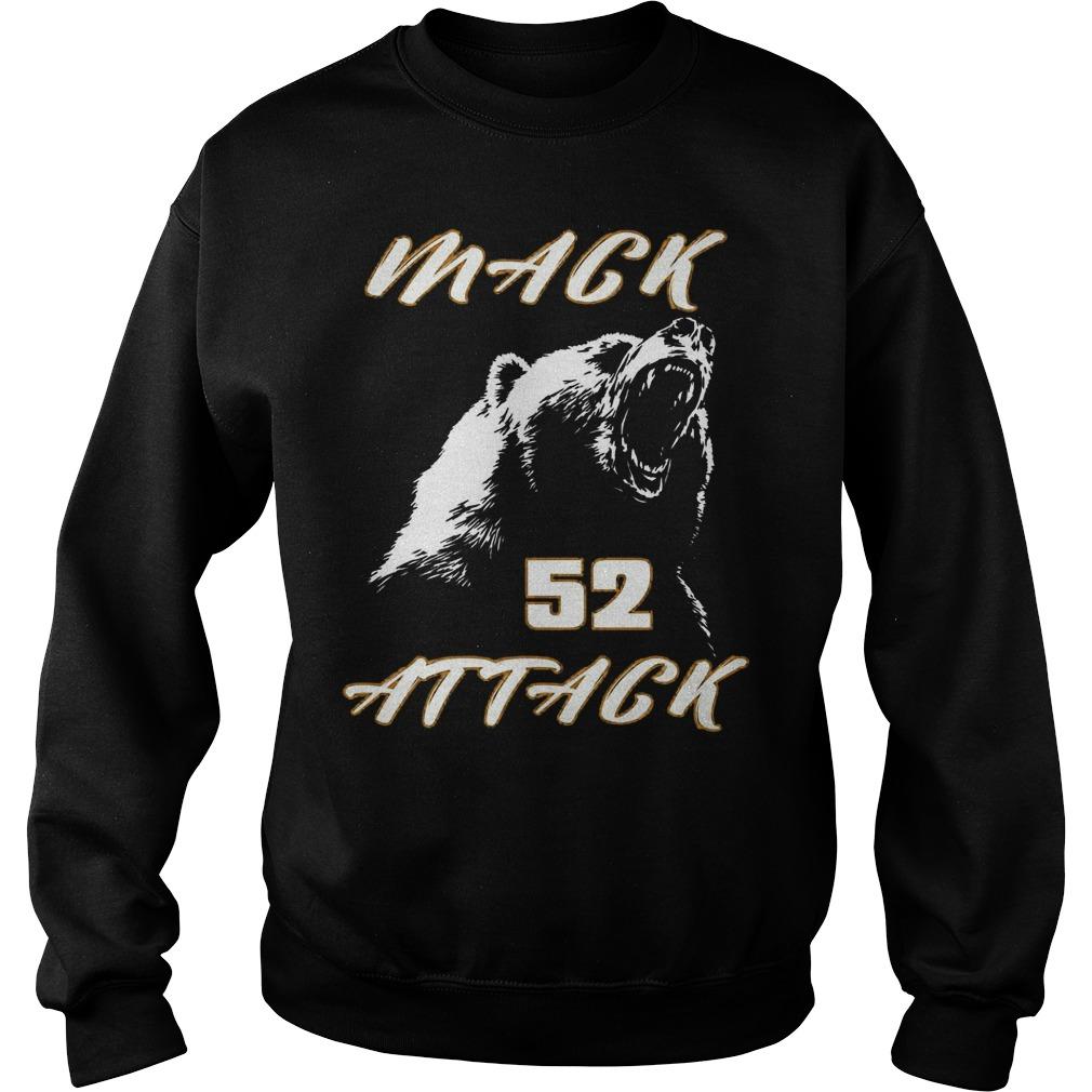 Mack attack 52 bear beast chicago Shirt Sweatshirt Unisex