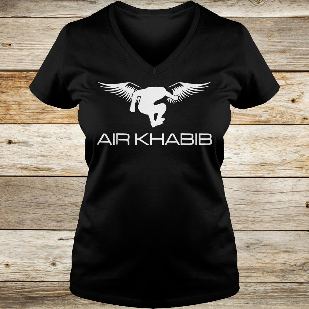 Air Khabib Eagle Khabib jump shirt Ladies V-Neck