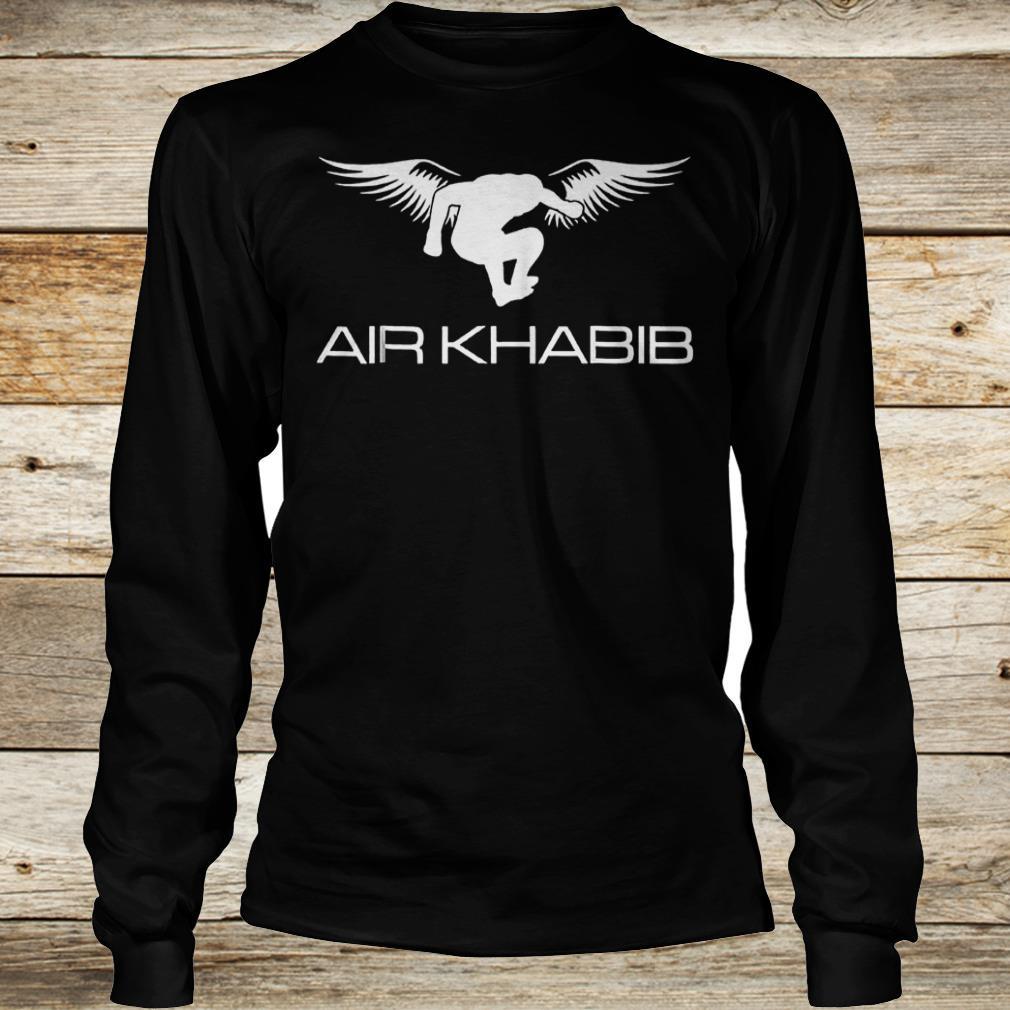 Air Khabib Eagle Khabib jump shirt Longsleeve Tee Unisex