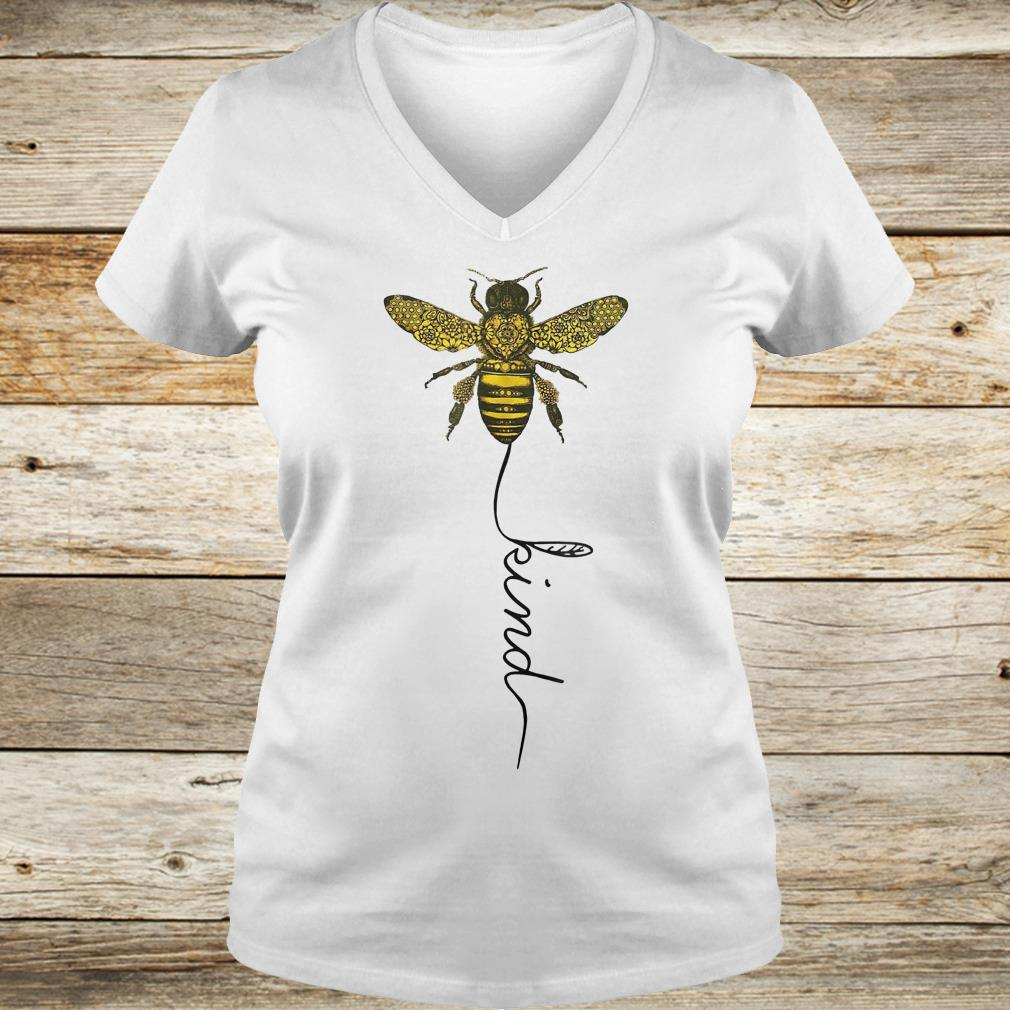 Best Price Happy bees kind for bees shirt Ladies V-Neck