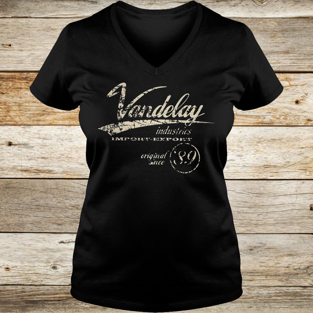 Best Price Vandelay industries import export original since 89 shirt Ladies V-Neck