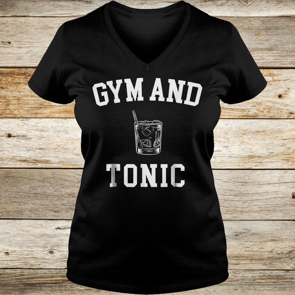 Gym and Tonic Shirt Ladies V-Neck