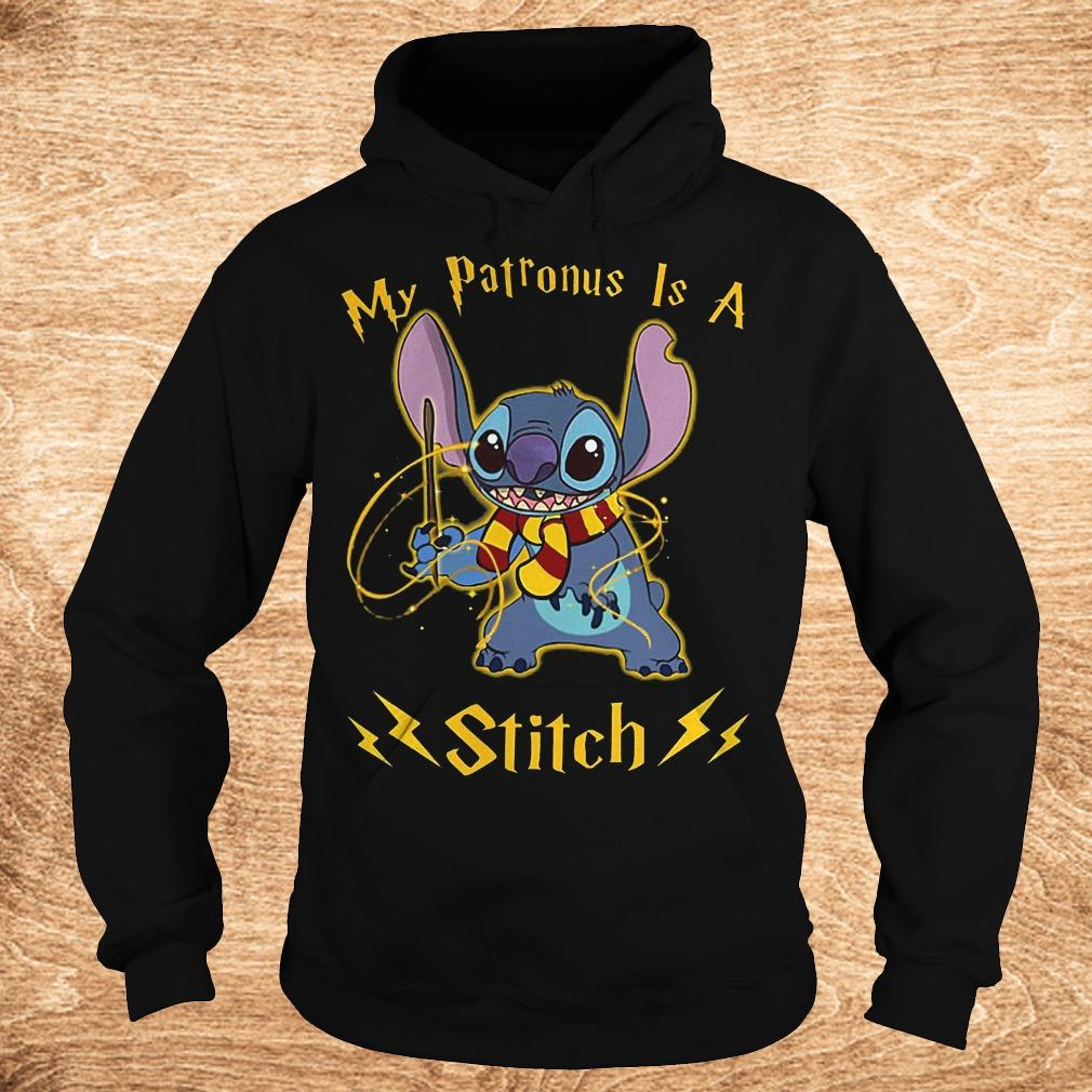 My patronus is a Stitch shirt Hoodie