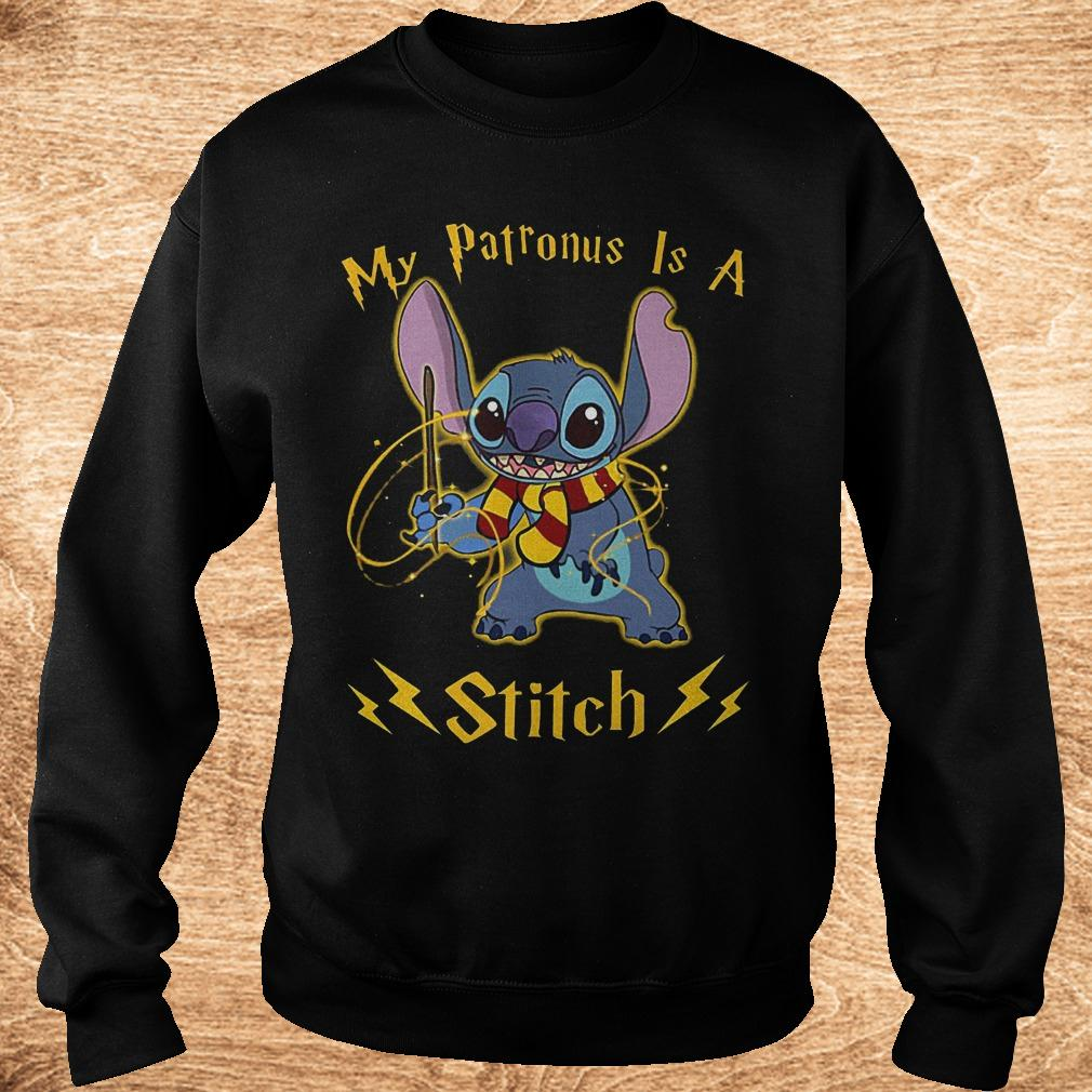 My patronus is a Stitch shirt Sweatshirt Unisex