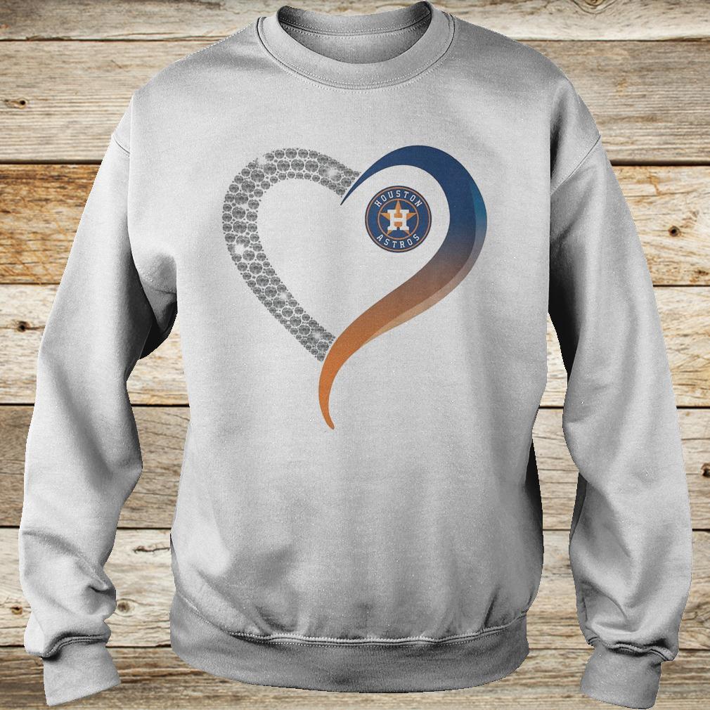 Official Houston Astros heart blink shirt Sweatshirt Unisex