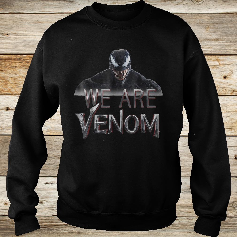 Official Marvel Venom we are Venom Big Grin shirt Sweatshirt Unisex