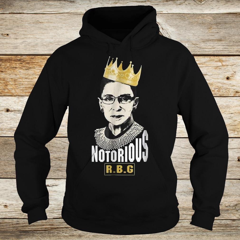 Official Notorious RBG Ruth Bader Ginsburg Shirt Hoodie