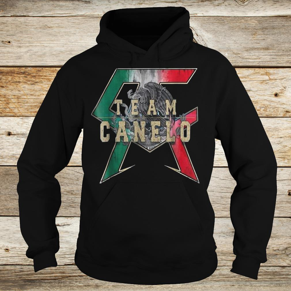 Official Team Canelo Eagle shirt Hoodie