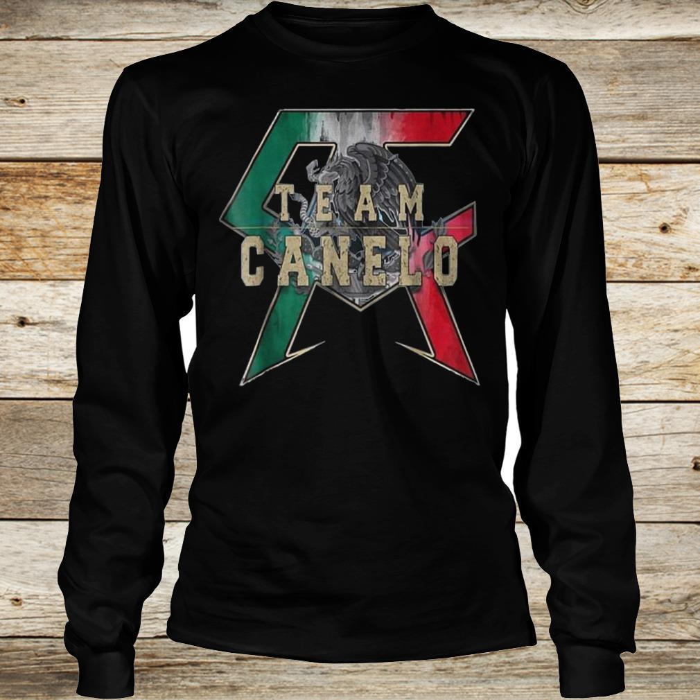 Official Team Canelo Eagle shirt Longsleeve Tee Unisex