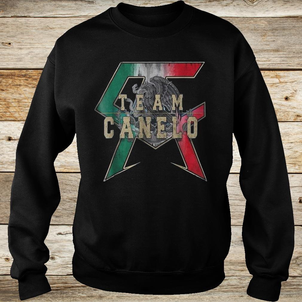 Official Team Canelo Eagle shirt Sweatshirt Unisex