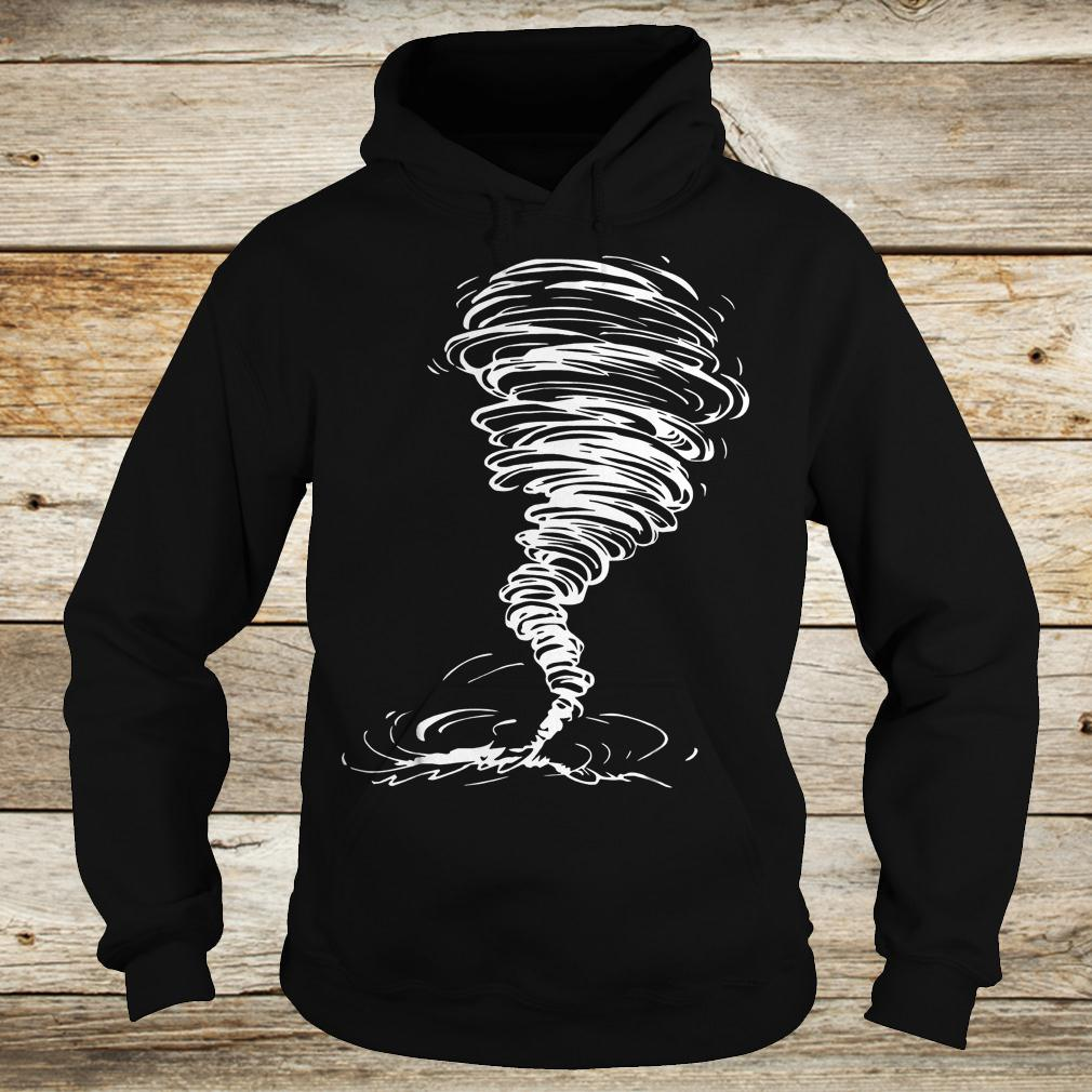 Official Tornado costume storm twister scary weather hurricane Shirt Hoodie