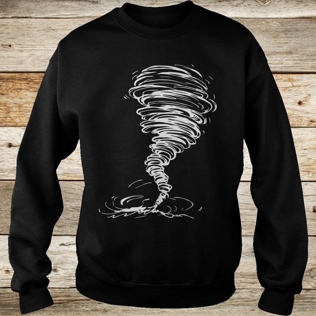 Official Tornado costume storm twister scary weather hurricane Shirt Sweatshirt Unisex