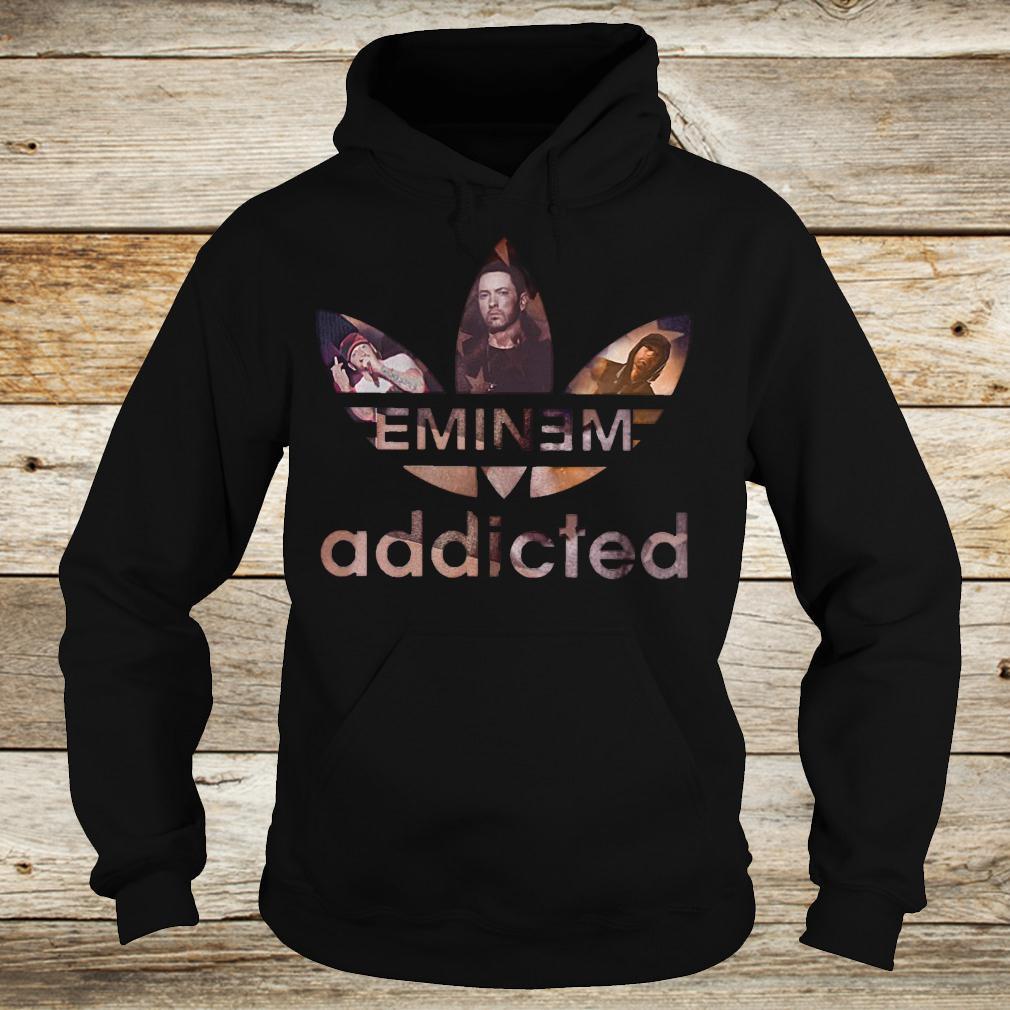 Original Eminem addicted shirt Hoodie