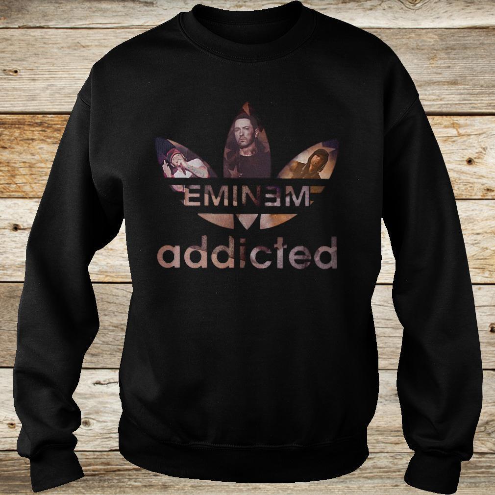 Original Eminem addicted shirt Sweatshirt Unisex