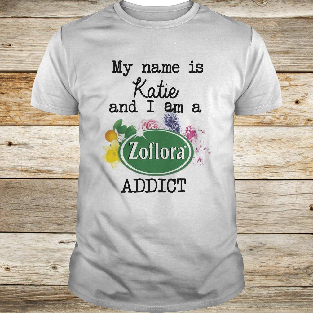 Original My name is Katie and I am a Zoflora Addict shirt Classic Guys / Unisex Tee