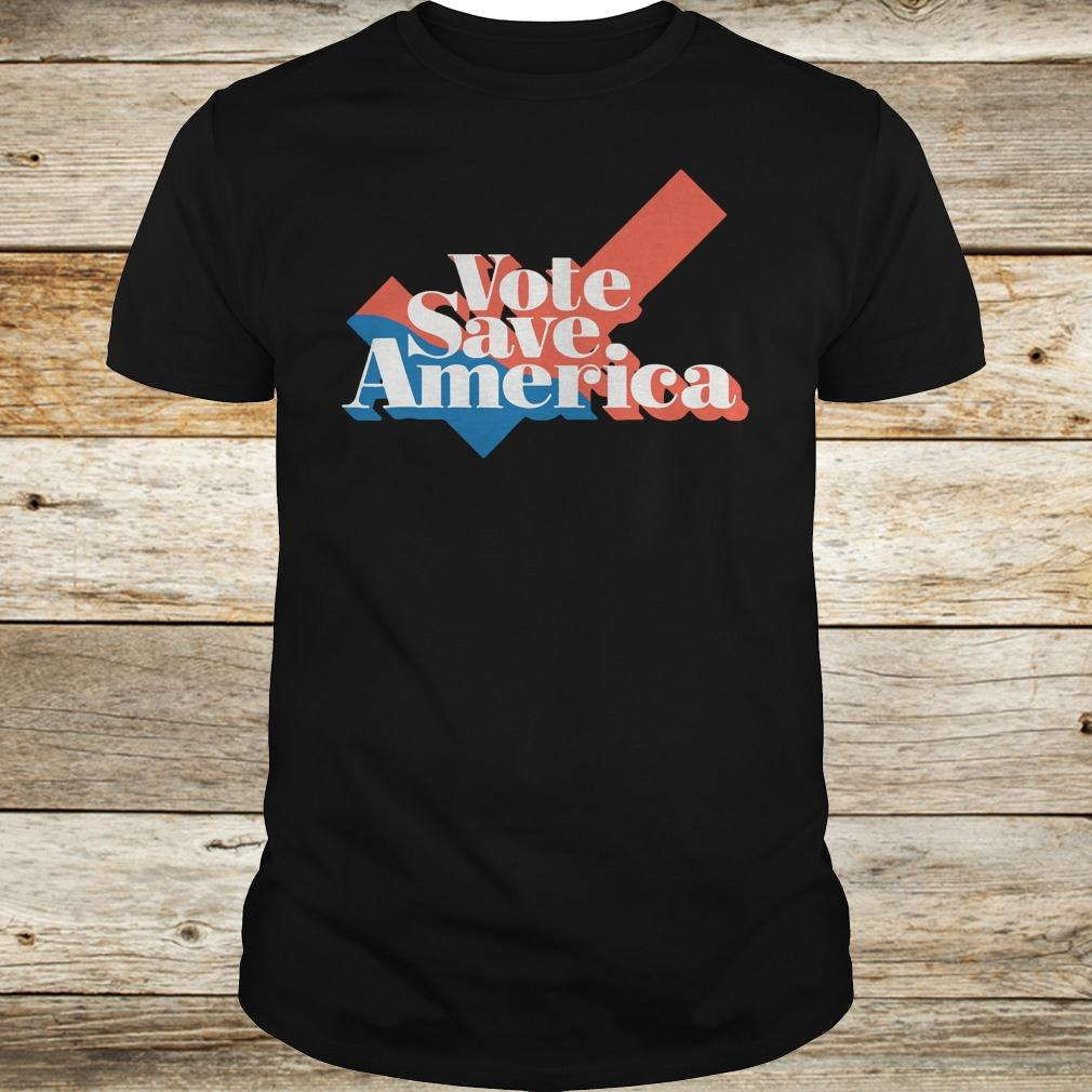 Original Vote save america shirt Classic Guys / Unisex Tee