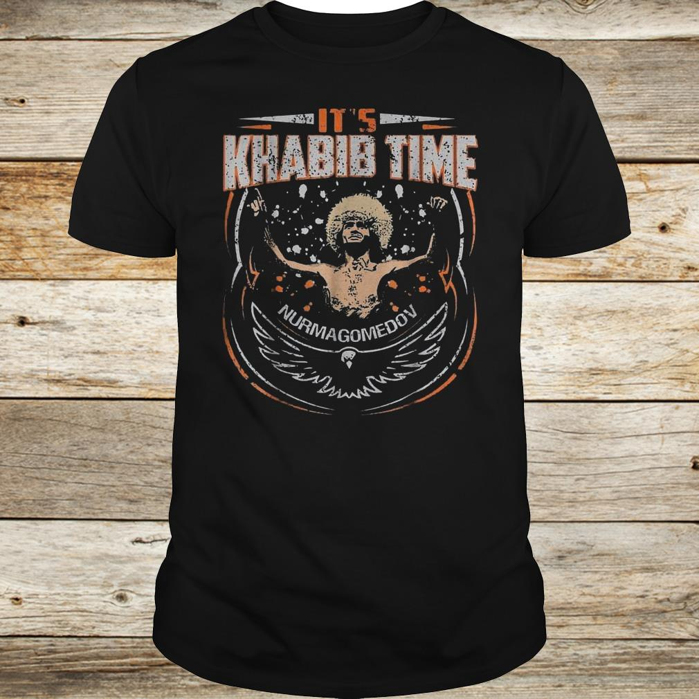 Premium It's Khabib time Nurmagomedov shirt