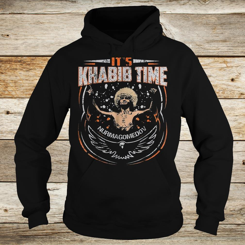 Premium It's Khabib time Nurmagomedov shirt Hoodie