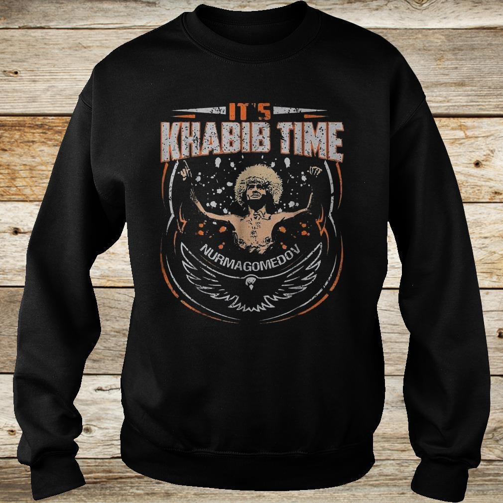 Premium It's Khabib time Nurmagomedov shirt Sweatshirt Unisex