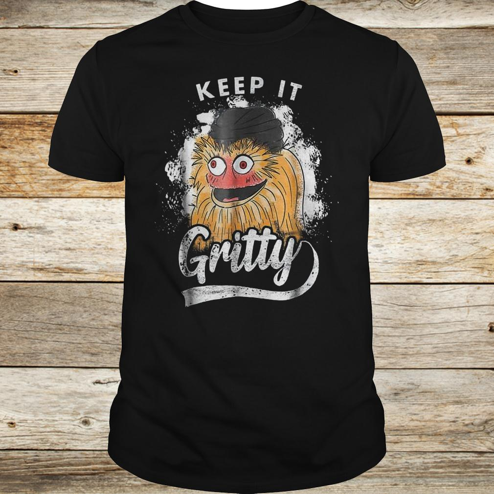 Premium Keep it Gritty Philadelphia hockey mascot shirt