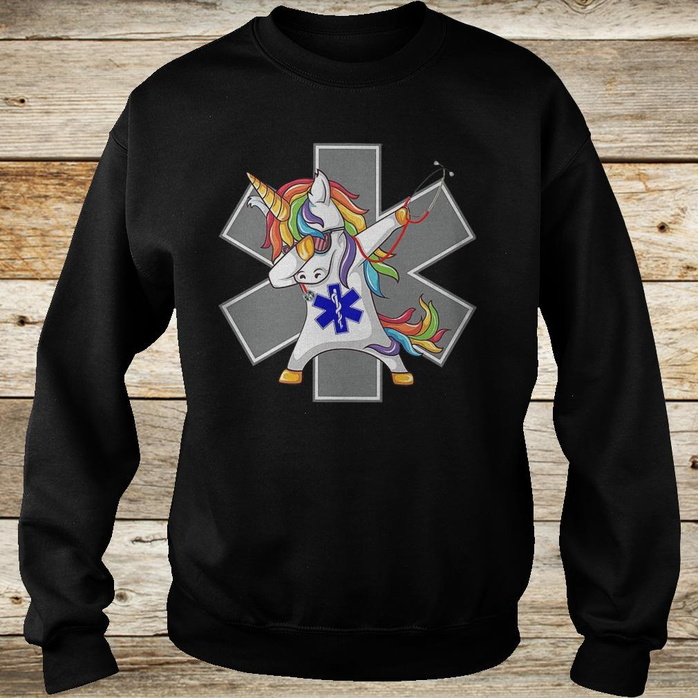 Premium Unicorn dabbing nurse strong magic shirt Sweatshirt Unisex