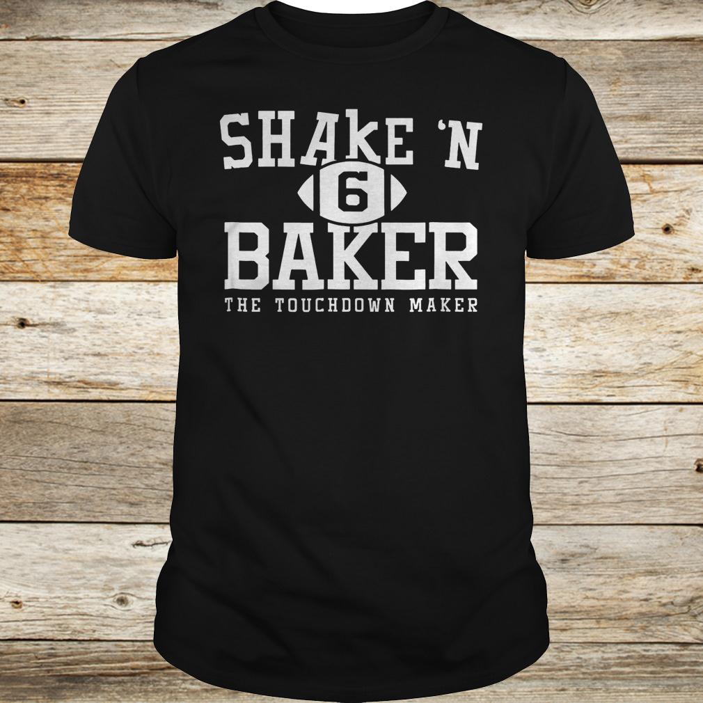 Shake N Baker The Touchdown Maker shirt