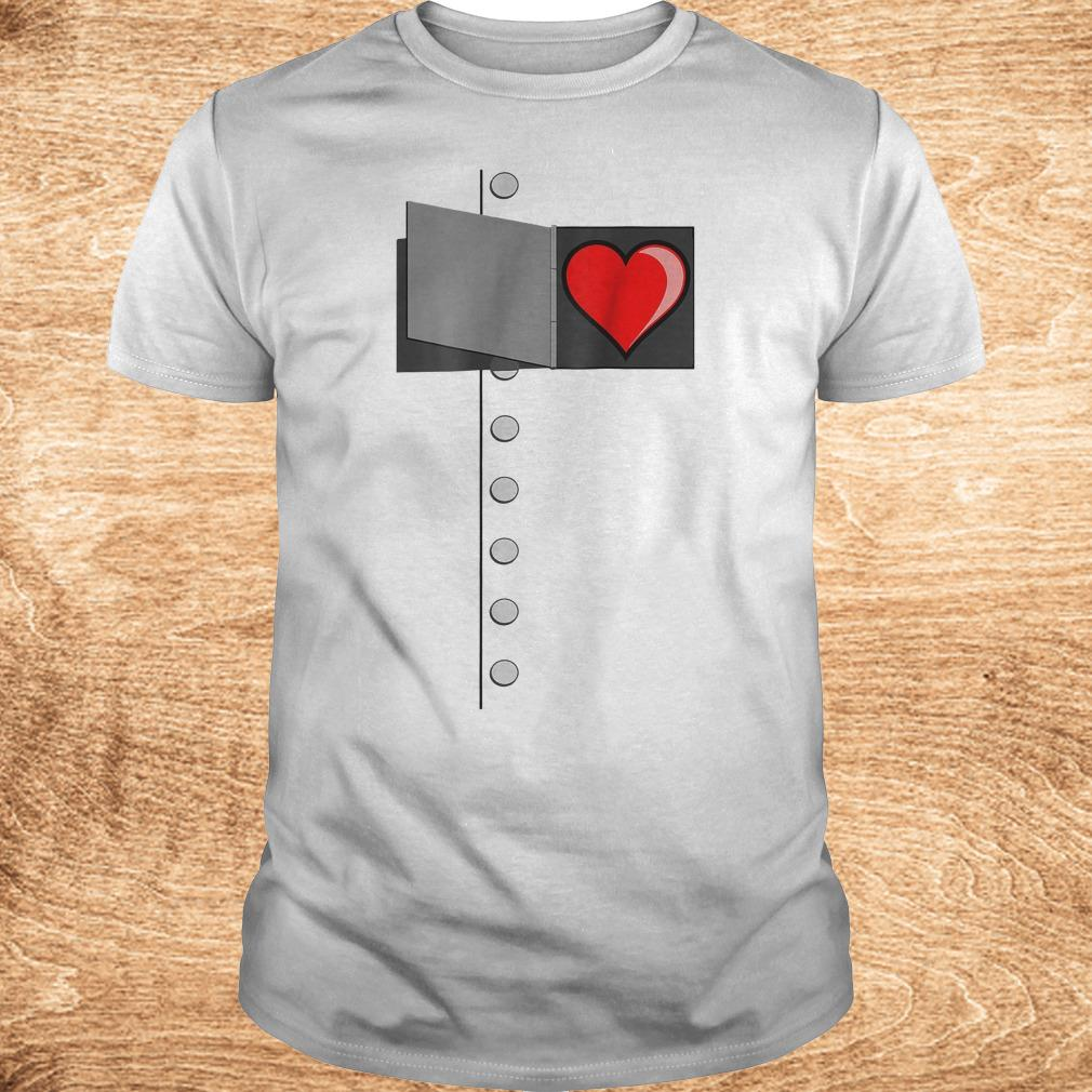 Tin man heart shirt