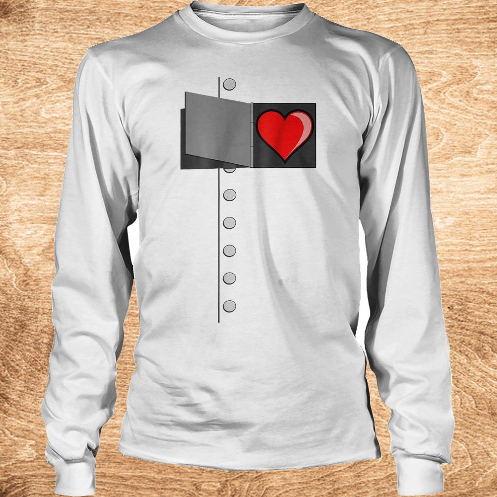 Tin man heart shirt Longsleeve Tee Unisex