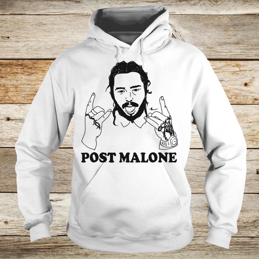 Vintage rapper Post leave me Malone Shirt Hoodie