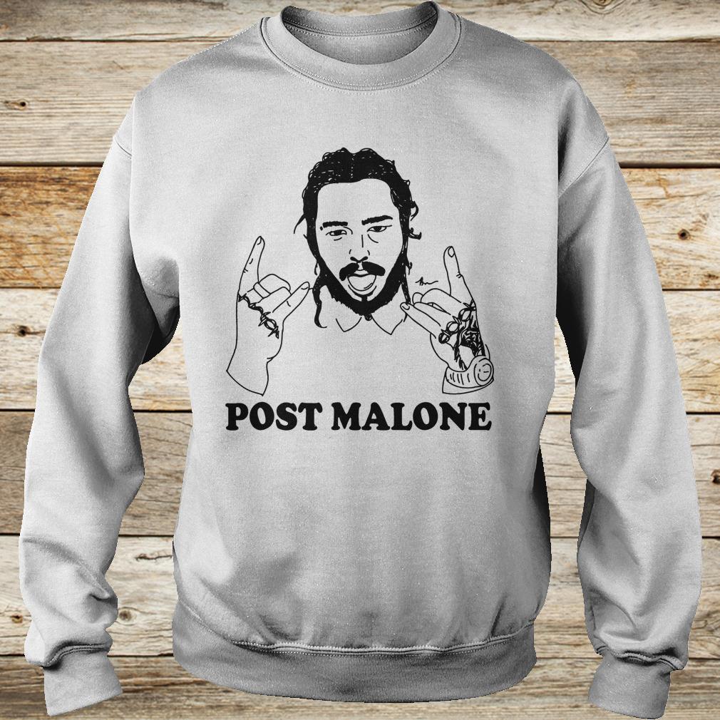 Vintage rapper Post leave me Malone Shirt Sweatshirt Unisex