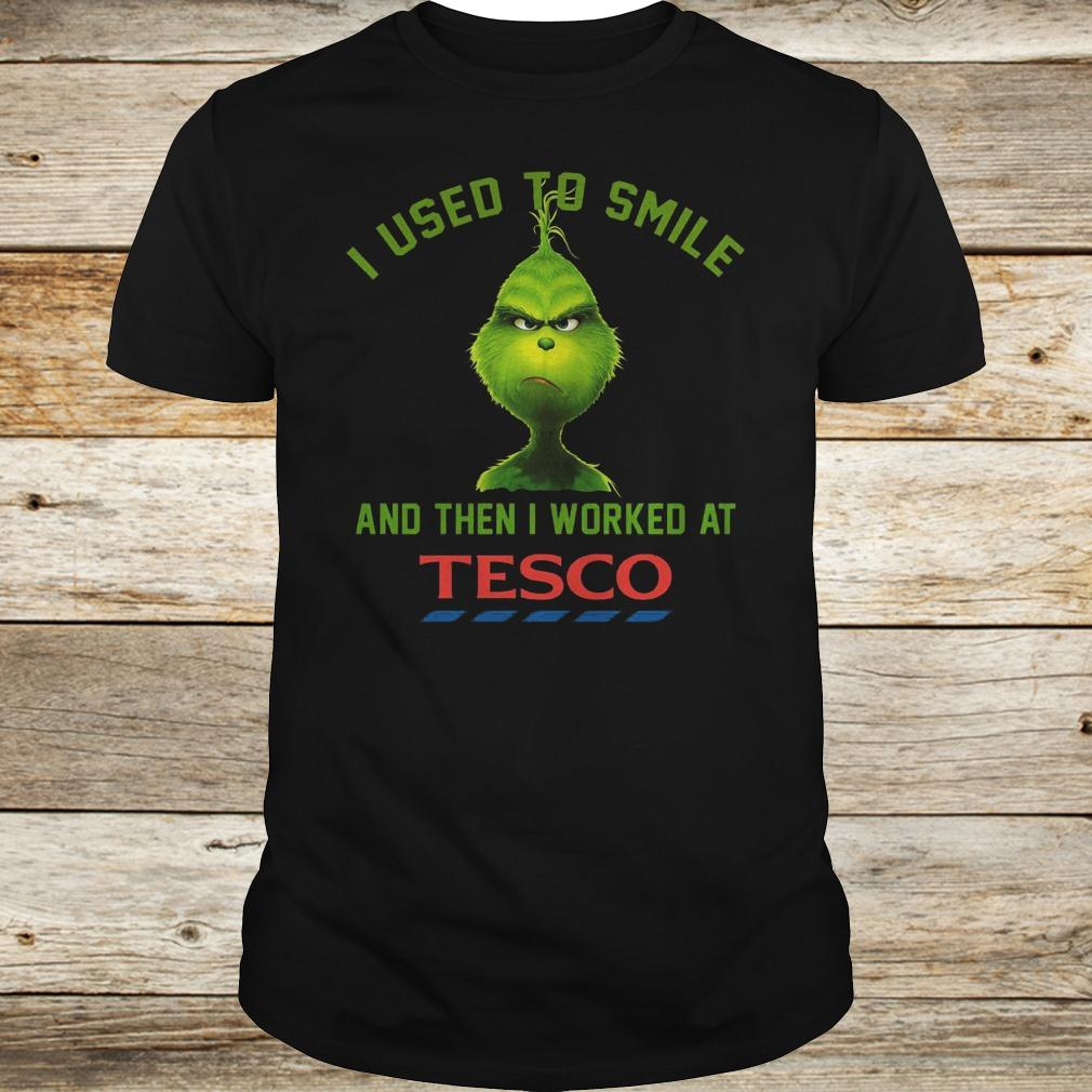Best Price I used to smile and then i worked at Tesco shirt Classic Guys / Unisex Tee