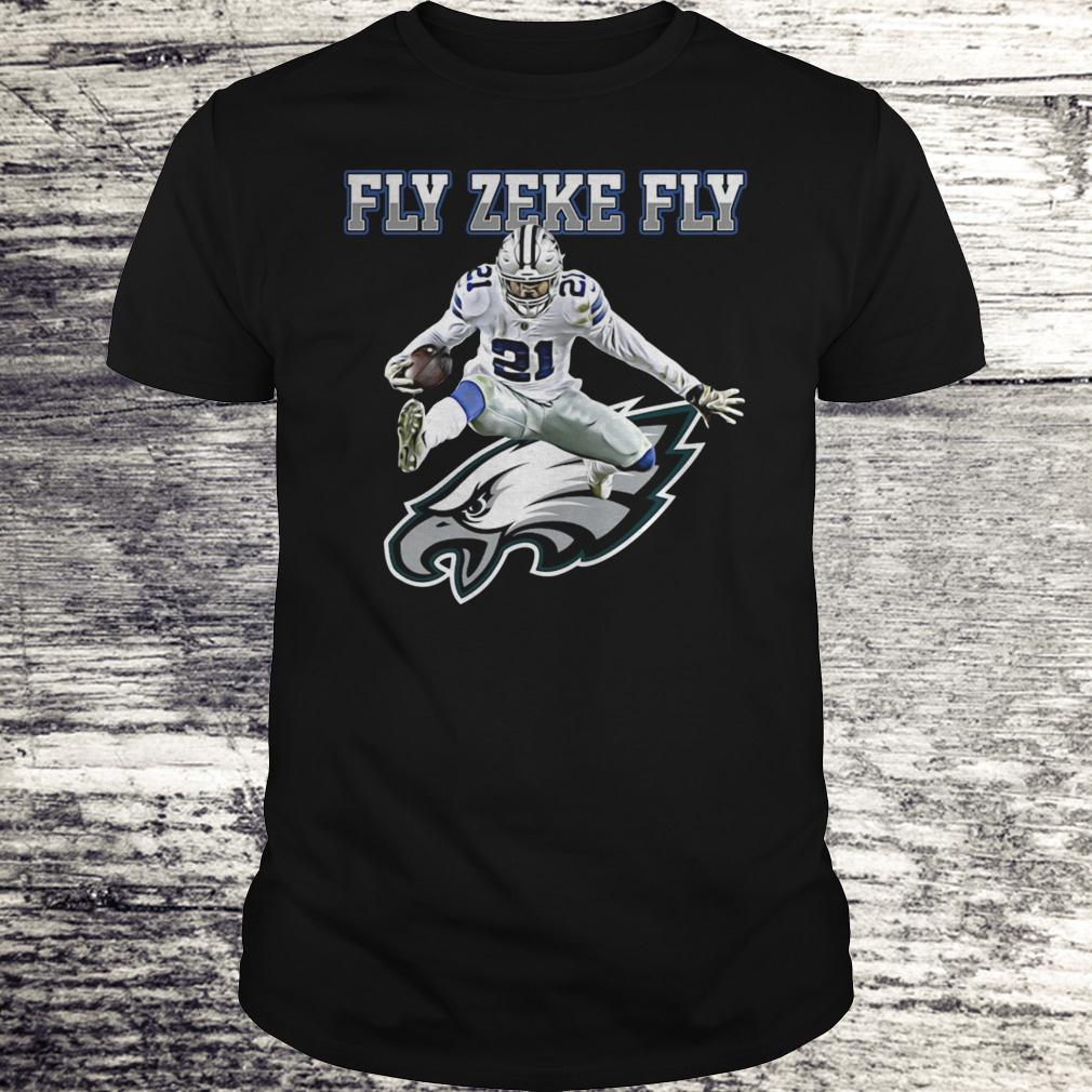 Best Price Philadelphia Eagles Fly Zeke Fly shirt Classic Guys / Unisex Tee