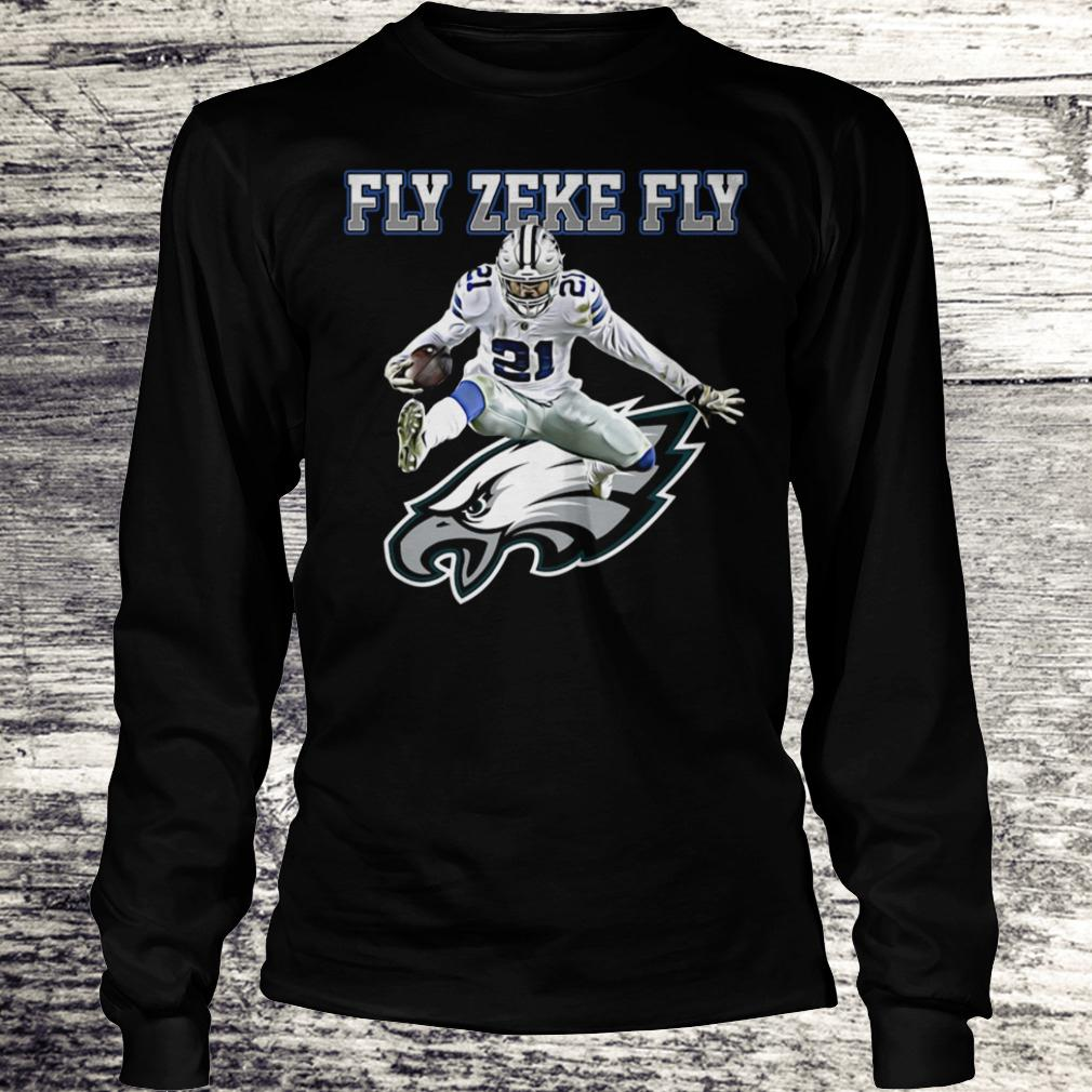 Best Price Philadelphia Eagles Fly Zeke Fly shirt Longsleeve Tee Unisex