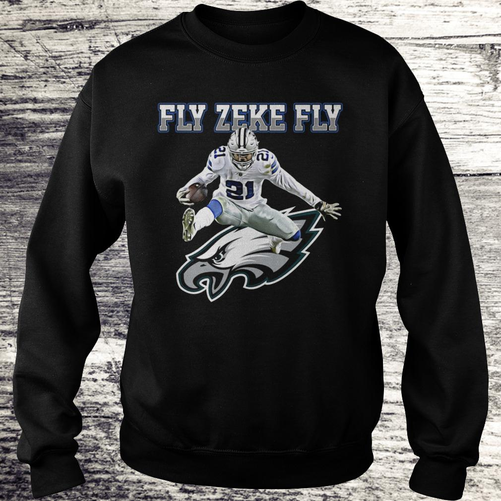 Best Price Philadelphia Eagles Fly Zeke Fly shirt Sweatshirt Unisex