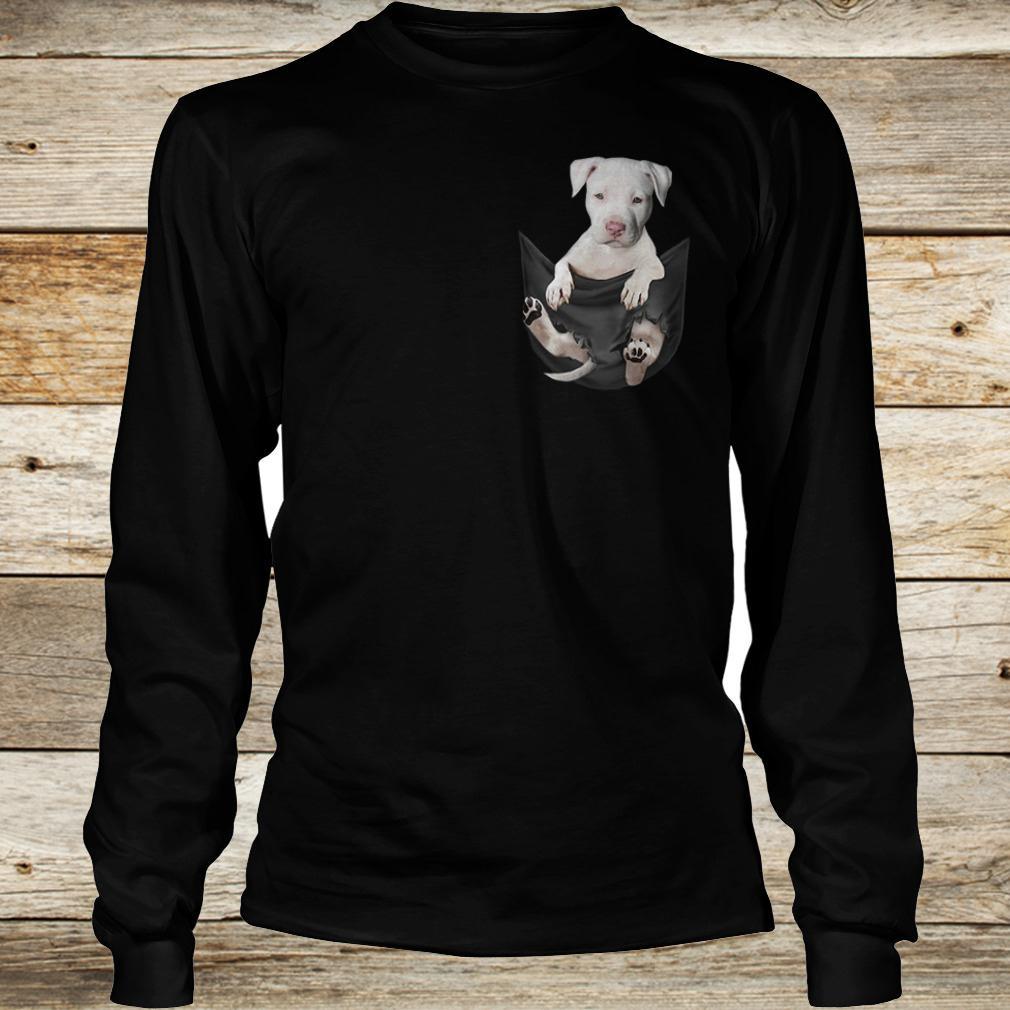 Best Price Staffordshire Bull Tiny Pocket shirt Longsleeve Tee Unisex