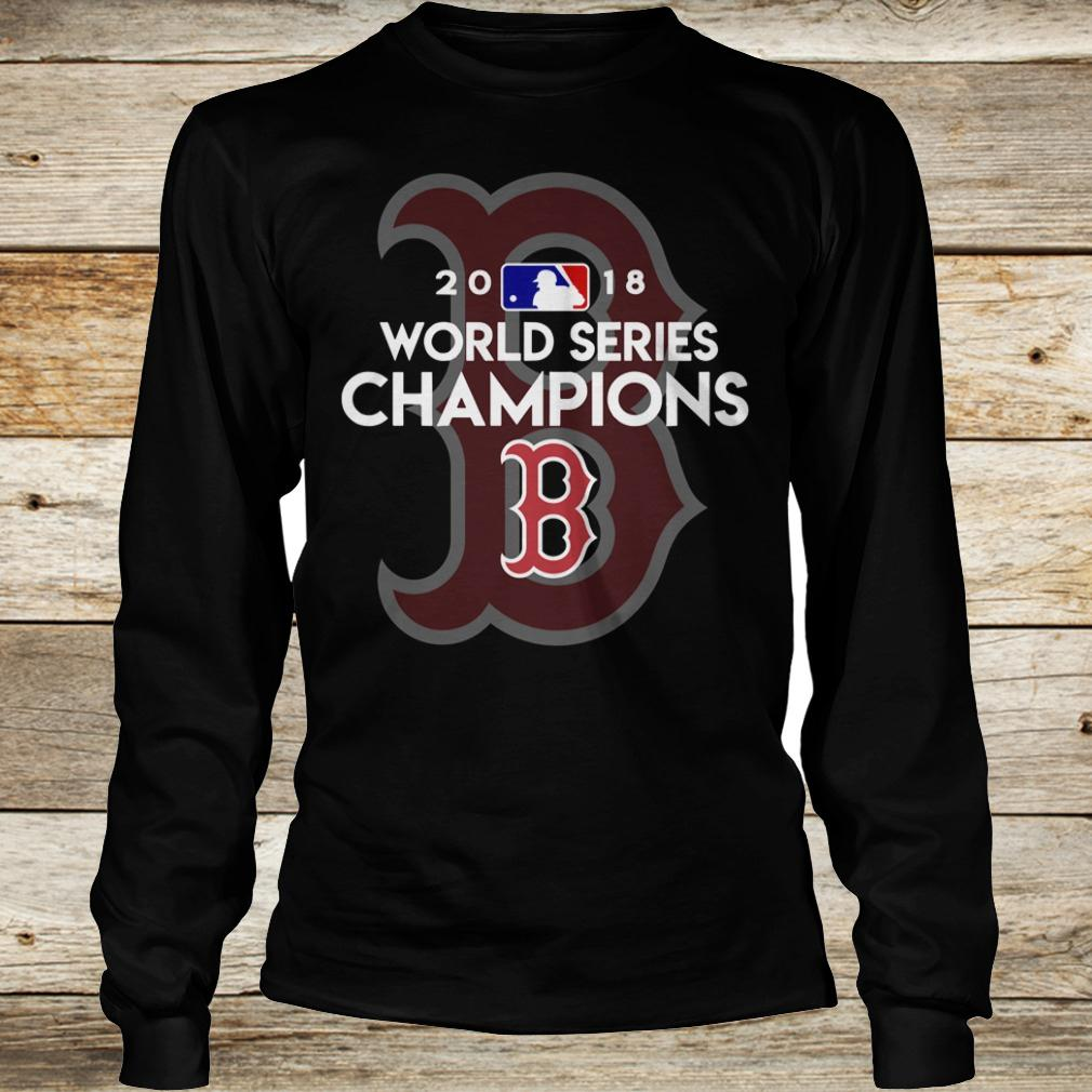 Best price Boston Red Sox world series champions shirt Longsleeve Tee Unisex