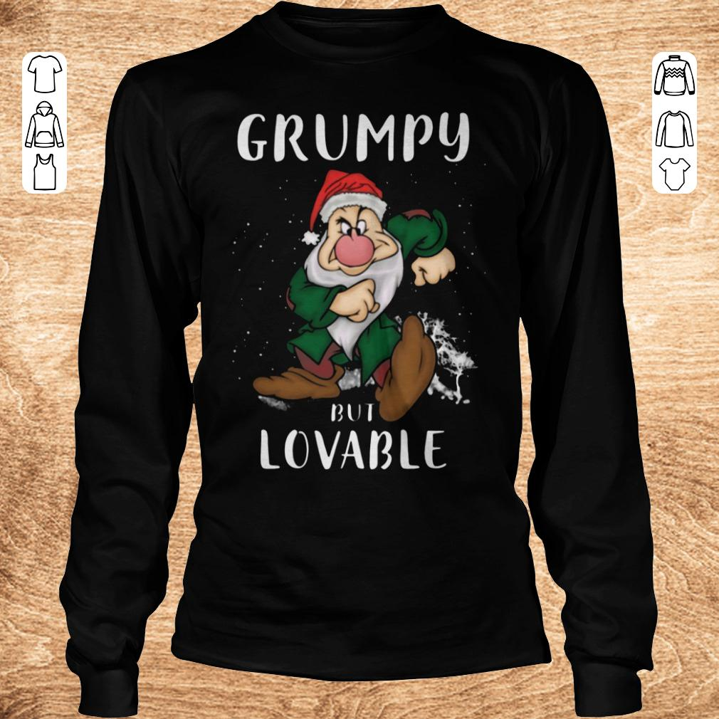 Nice Grumpy but lovable Shirt Longsleeve Tee Unisex