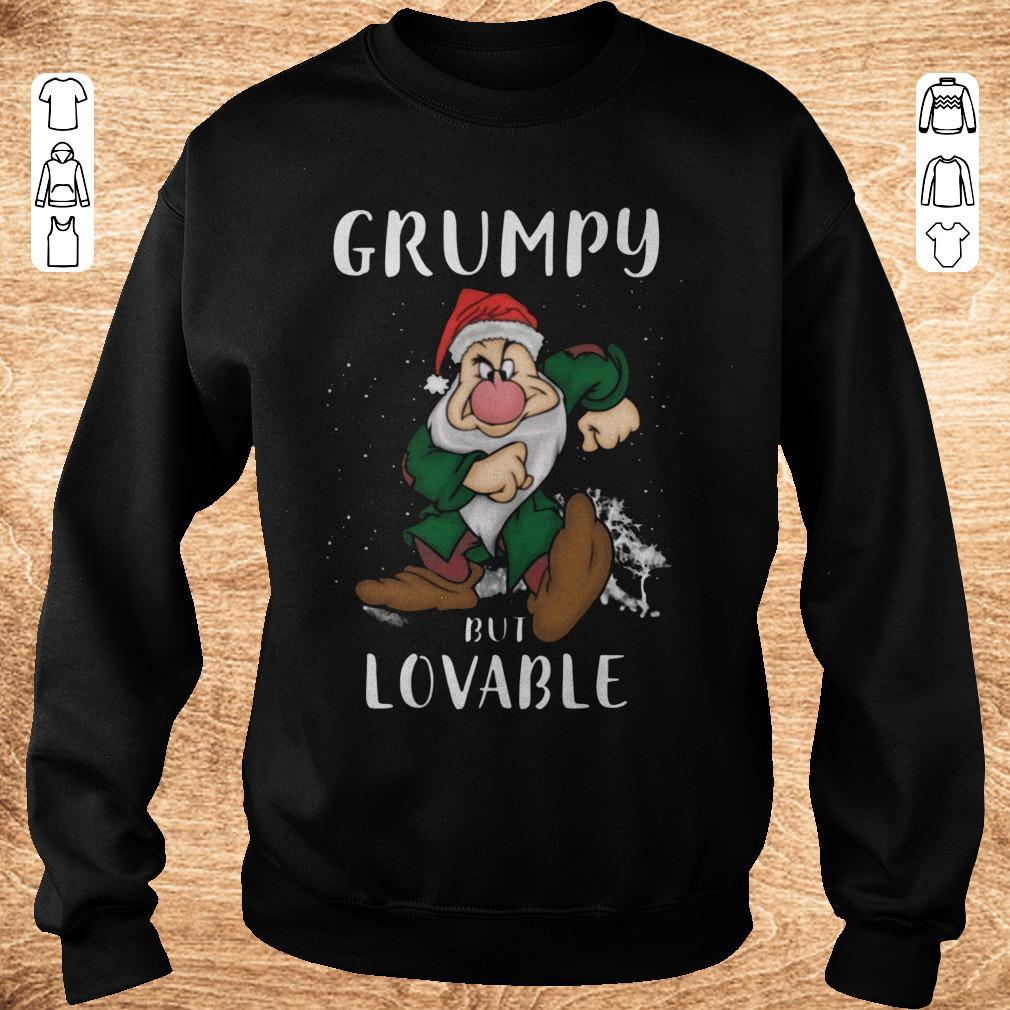 Nice Grumpy but lovable Shirt Sweatshirt Unisex