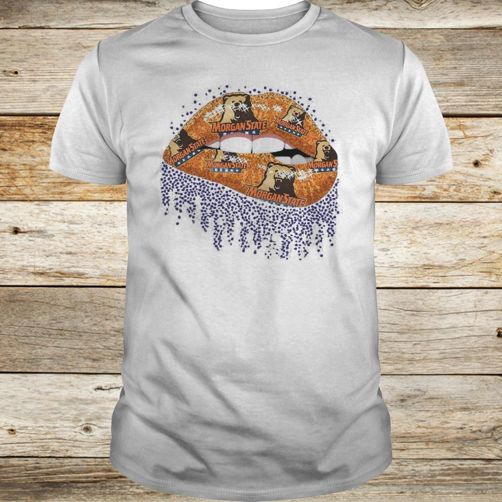 Official Morgan State Lip Bling shirt Classic Guys / Unisex Tee
