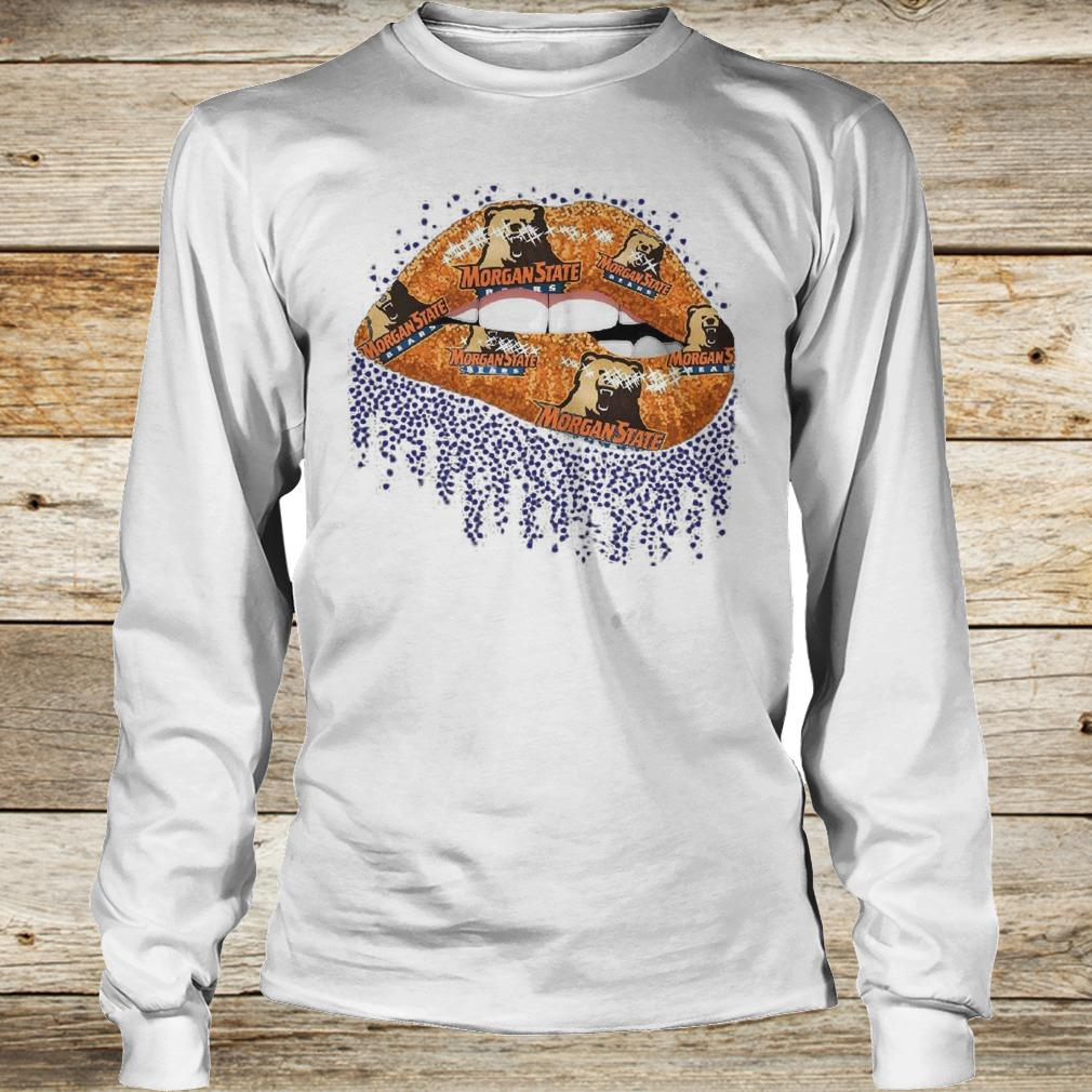 Official Morgan State Lip Bling shirt Longsleeve Tee Unisex