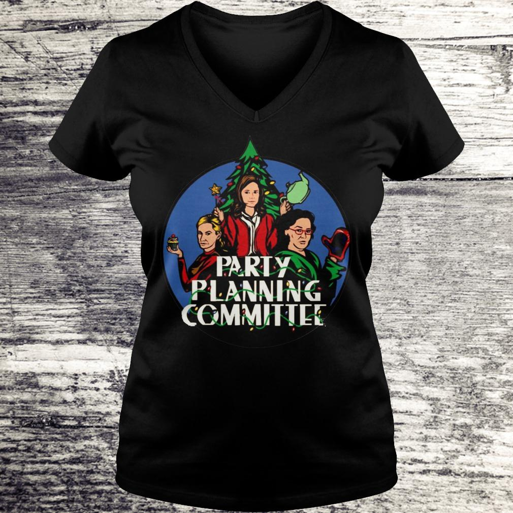 Official Party planning committee shirt Ladies V-Neck