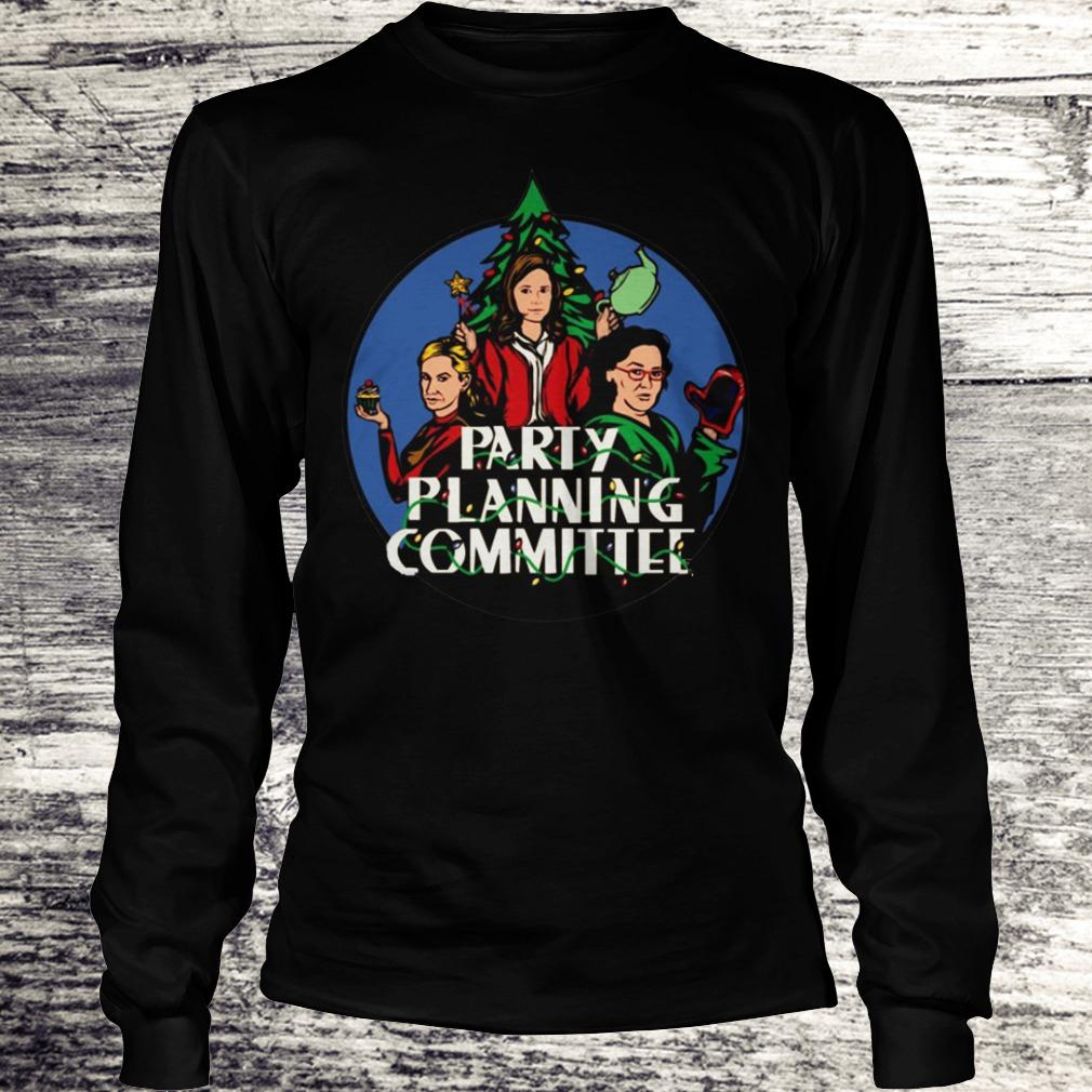 Official Party planning committee shirt Longsleeve Tee Unisex