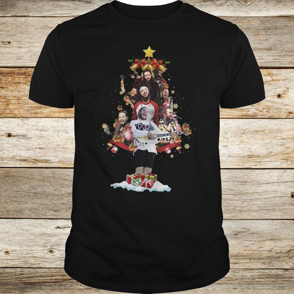 Original Malone Christmas tree sweatshirt