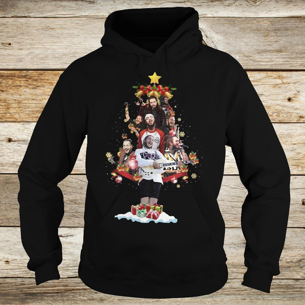 Original Malone Christmas tree sweatshirt Hoodie
