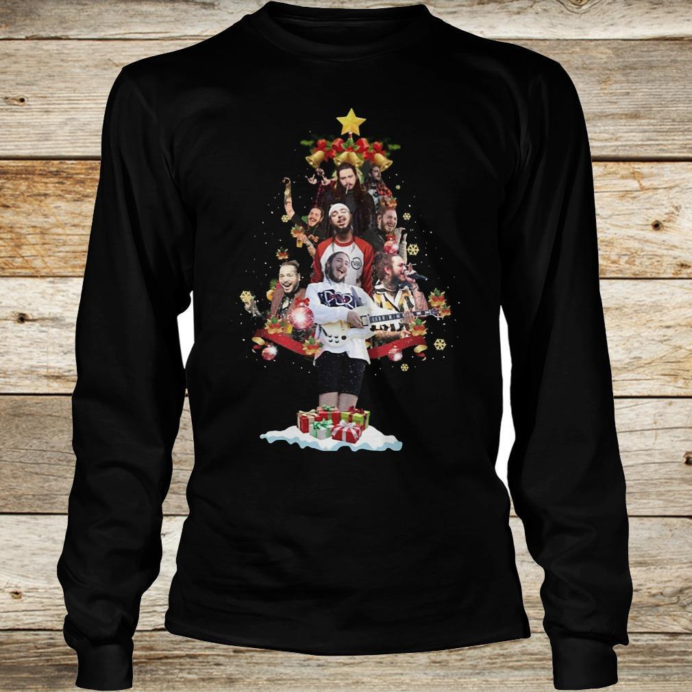 Original Malone Christmas tree sweatshirt Longsleeve Tee Unisex