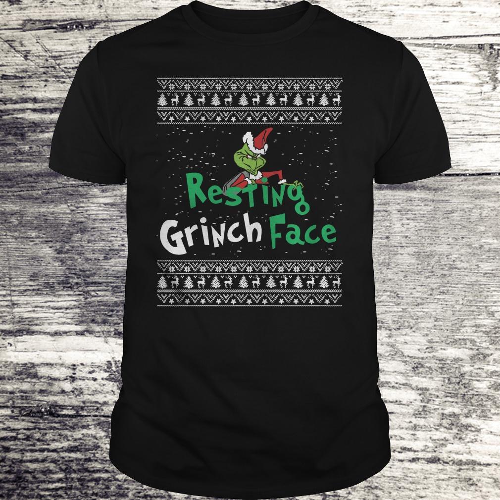 Original Resting Grinch face shirt