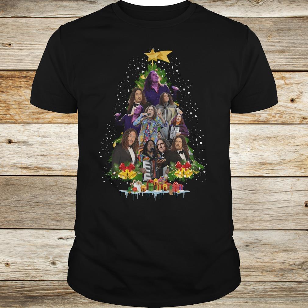 Original Weird Al Yankovic Christmas tree shirt Classic Guys / Unisex Tee