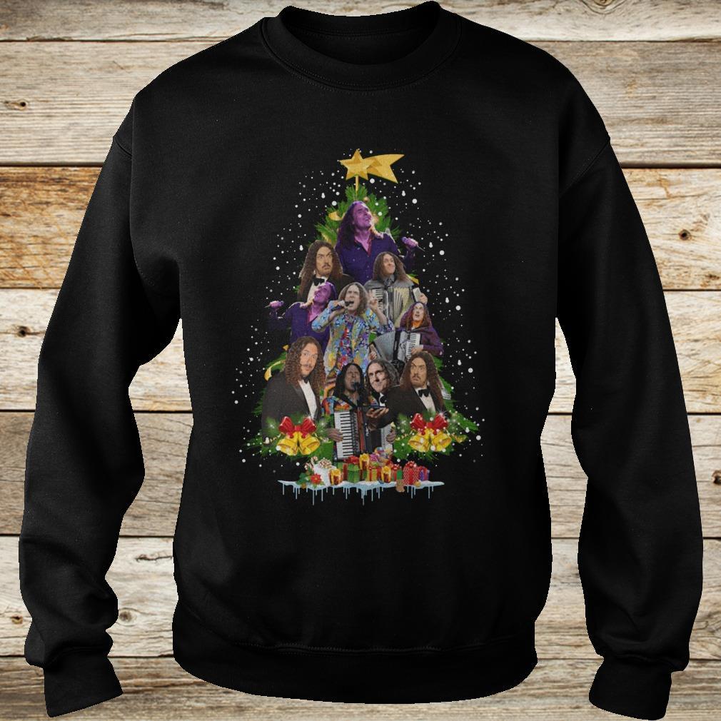 Original Weird Al Yankovic Christmas tree shirt Sweatshirt Unisex