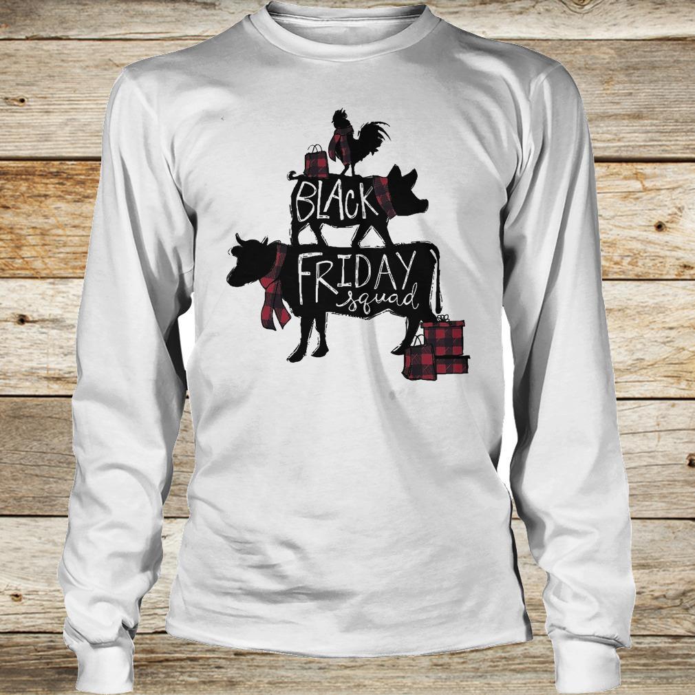 Premium Black friday squad shirt Longsleeve Tee Unisex